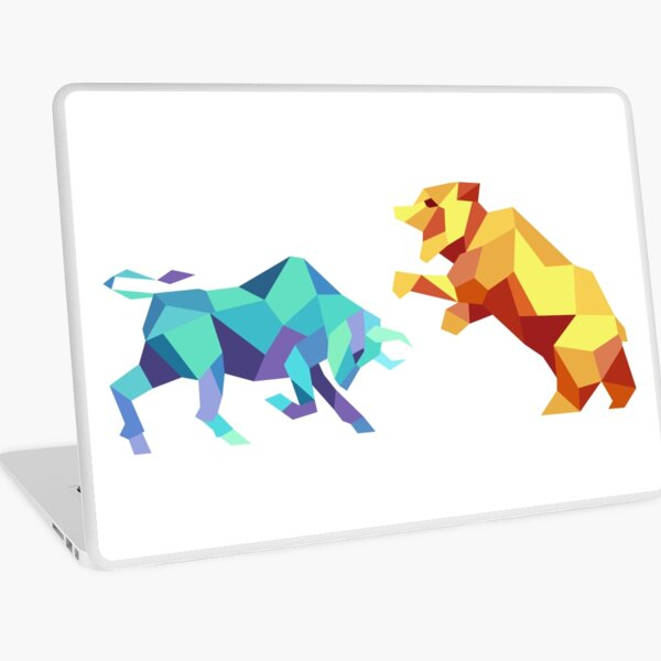 Bull vs Bear Laptop Skin