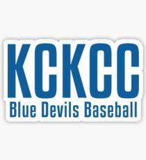 KCKCC Baseball Sticker
