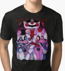 Fnaf - Sister Location  Tri-blend T-Shirt