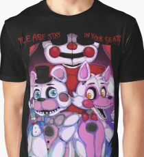 Fnaf - Sister Location  Graphic T-Shirt