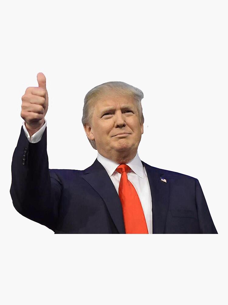 Trump Thumbs Up de FairfielduCR