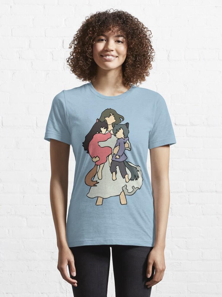 Vista alternativa de Camiseta esencial Niños lobo