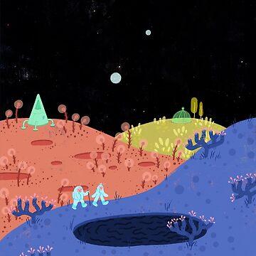 Moon Walk by sleepydolphin