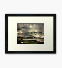 Bolus Head Under A Cloud Framed Print
