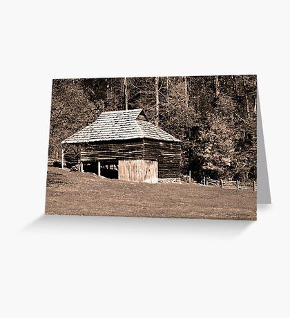 Will Messer Barn II Greeting Card
