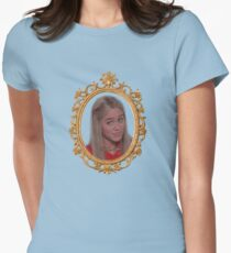 "Marcia Brady ""Sure, Jan"" Womens Fitted T-Shirt"