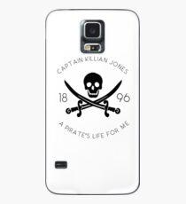 Captain Hook - Killian Jones - Es war einmal Hülle & Klebefolie für Samsung Galaxy