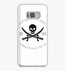 Captain Hook - Killian Jones - Once Upon A Time Samsung Galaxy Case/Skin