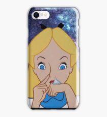 Alice in Wonderland doing a Bump iPhone Case/Skin