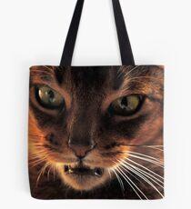 So you think I'm a domestic cat ! Tote Bag