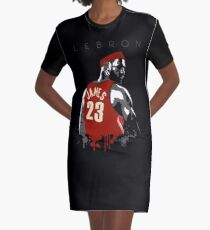 Hail King James  Graphic T-Shirt Dress