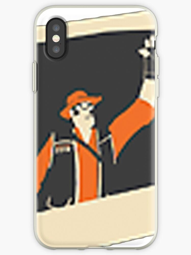 'TF2 Sniper Freeze Cam Taunt' iPhone Case by Obodobear