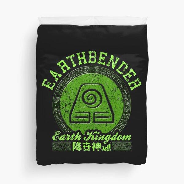 Earthbender Duvet Cover