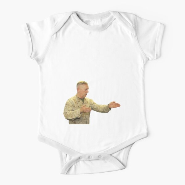 REPS FOR MATTIS Short Sleeve Baby One-Piece