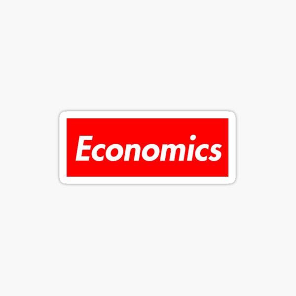 Economics Sticker