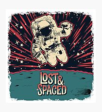 Lost and Spaced Photographic Print