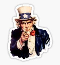 Uncle Sam Sticker