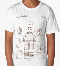 Leonardo Da Vinci Lego Long T-Shirt