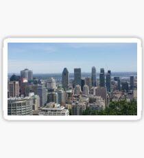 Montréal Skyline Sticker
