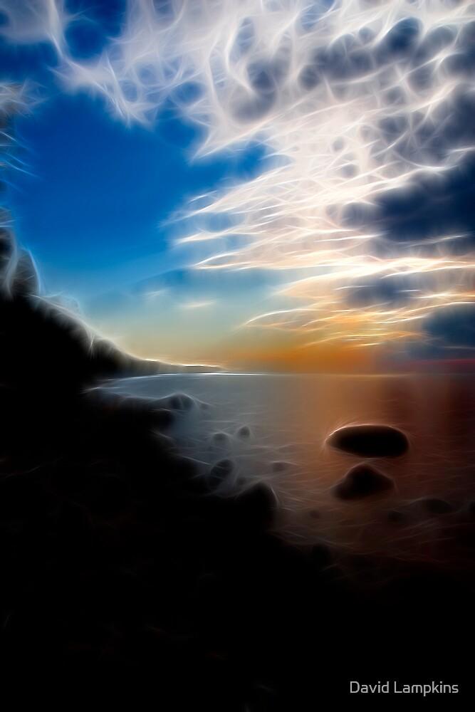 Lake Superior Shoreline II by David Lampkins