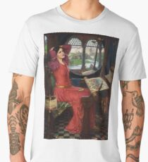 I am half-sick of shadows, said the Lady of Shalott - John William Waterhouse Men's Premium T-Shirt