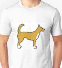 portuguese podengo color silhouette T-Shirt