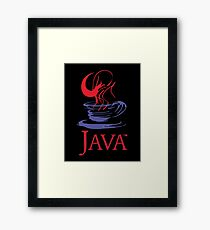 java Framed Print