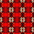 Bats pattern by Silvia Ganora