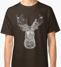 Nature Deer (White) Classic T-Shirt
