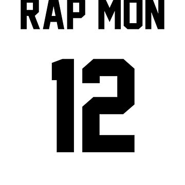 BTS Rap Mon Jersey by Nitewalker314