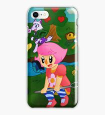 Butteflies- Animal Crossing New Leaf iPhone Case/Skin