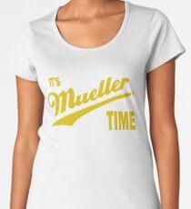 it's Mueller Time - GOLD Women's Premium T-Shirt