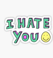 i hate you :) Sticker
