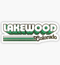 Lakewood, CO | City Stripes Sticker