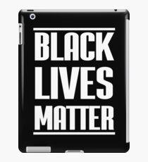 Black Lives Matter - black iPad Case/Skin