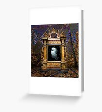 Of Stardust and Transcendence Greeting Card