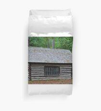 Log Cabin Duvet Cover