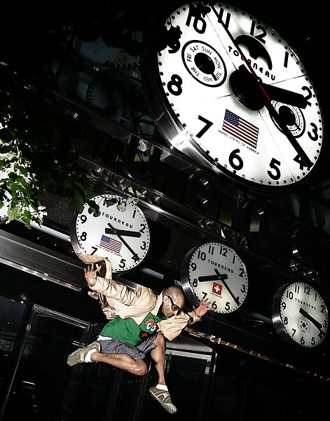 This is how you cross time zones.... at 2AM by KamPhotography