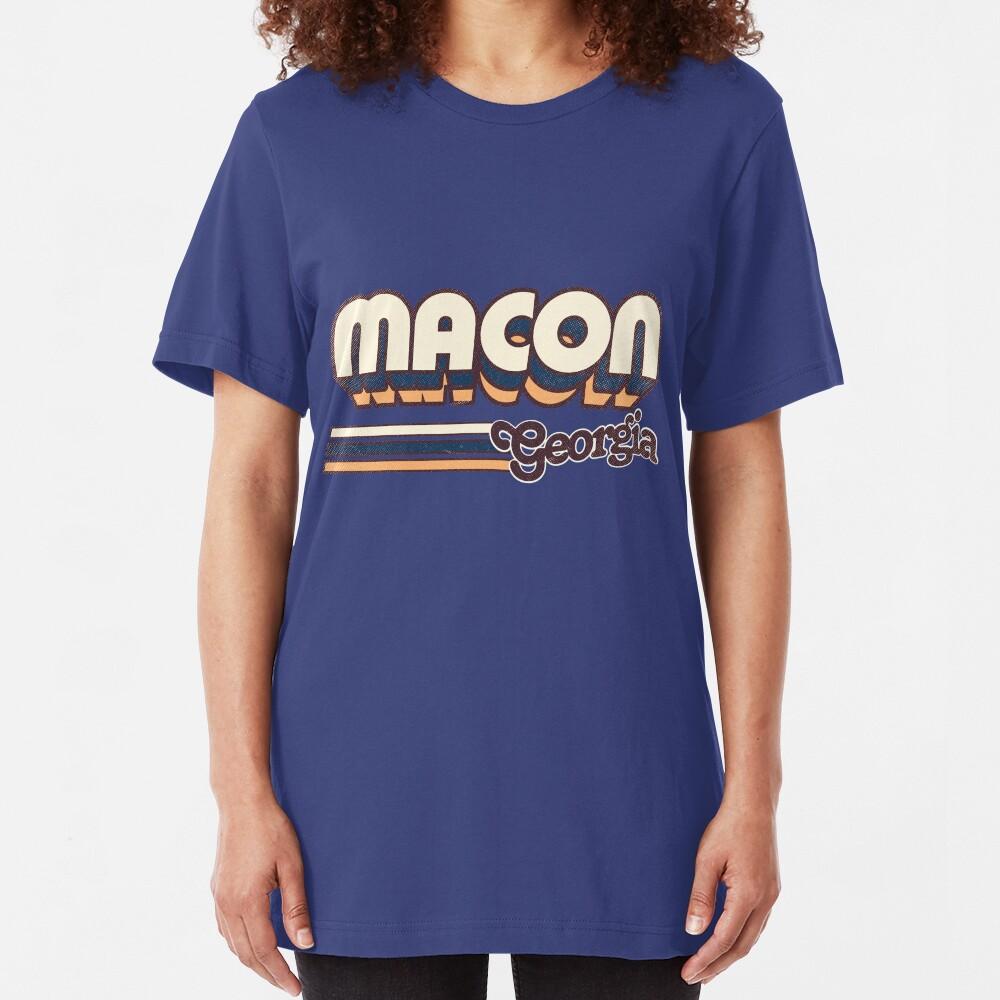 Macon, GA | City Stripes Slim Fit T-Shirt