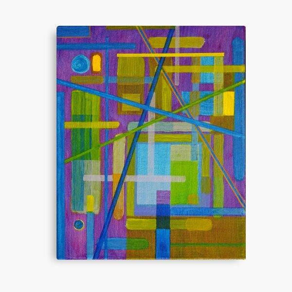 Temperament Canvas Print