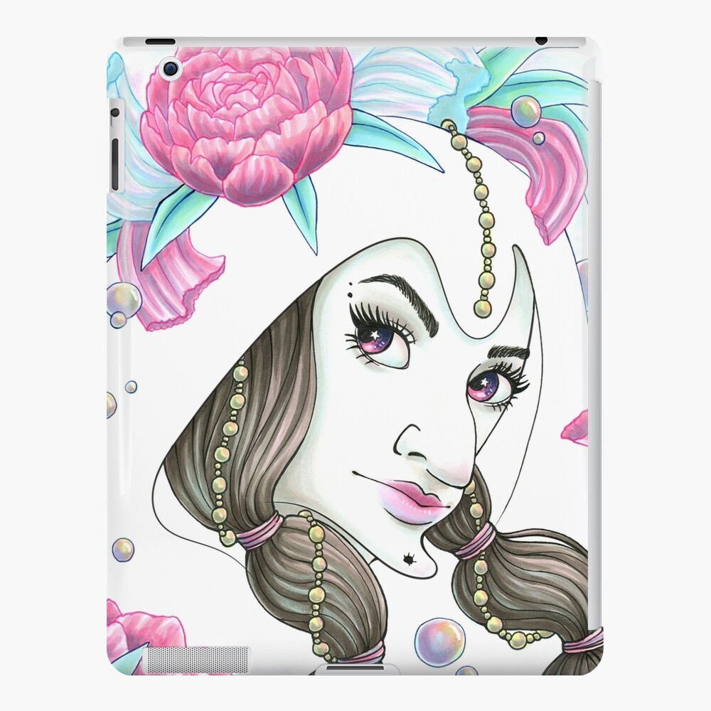 Scribble Witch Funda y vinilo para iPad