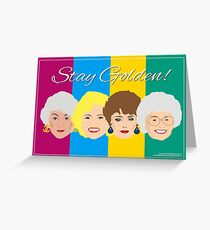 The Golden Girls Greeting Card Greeting Card