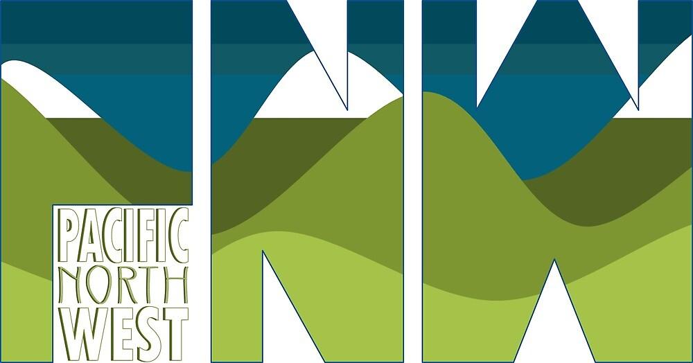 Pacific Northwest by inkblotcreative