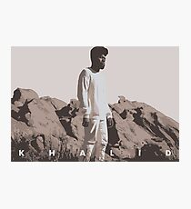 KHALID ALBUM COVER Photographic Print