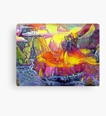 Rickventure Time Travel Stuff Canvas Print