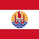 French Polynesia Flag Products by Mark Podger