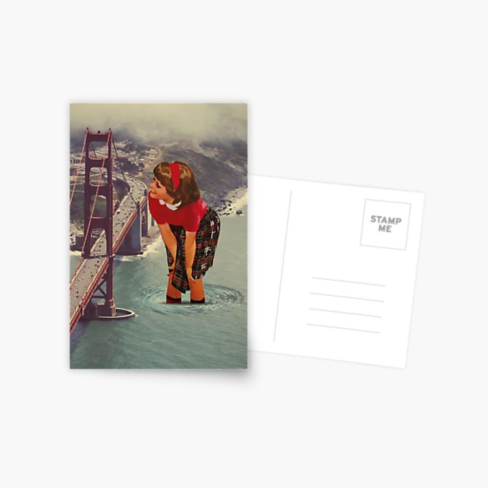 hypnotisiert Postkarte