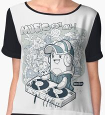 Music for all Chiffon Top