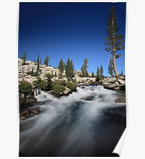 Cascades in Desolation Wilderness Poster