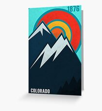 Colorado State Greeting Card